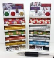 Gift Wrap Display Stand - Christmas - S129CH