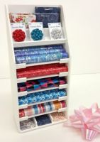 S129Red & Blue Gift Wrap Display Stand