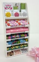 Girls & Boys Gift Wrap Display Stand - S129 GIRLS BOYS