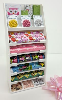 Gift Wrap Display Stand - Girls & Boys - S129 GIRLS BOYS