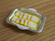 Battenberg Cake Slices in tray - S19