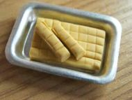 Vanilla Fudge in tray - S25