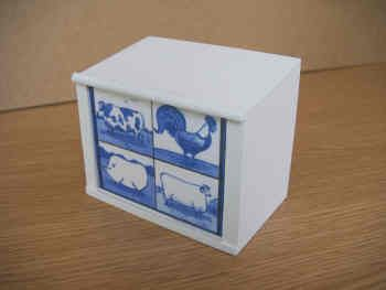 Butcher's Display Counter - 'Tile' Panel Front - S35