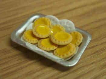 Lemon Curd Tarts in tray - S56
