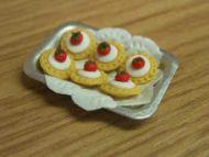 Strawberry Tarts in tray - S63