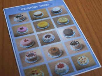 Cakes Poster - S71