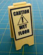 Wet floor sign - mini 'A' Board