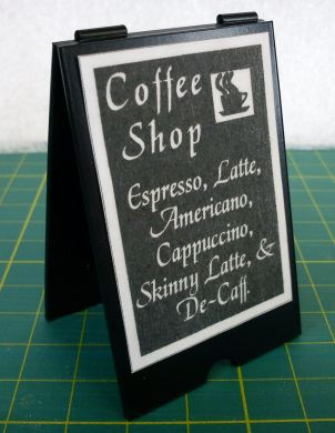 Coffee Shop 'A' Board Sign - M205