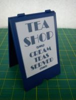 'A' Board Sign - Tea Shop