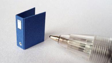 Blue Twenty Fourth Binder - TFO1
