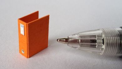 Orange Twenty Fourth Binder - TFO1