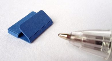 Blue Twenty Fourth Document Wallet - TFO2