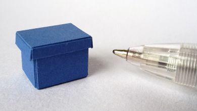 TFO3 Blue Twenty Fourth Document Box