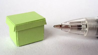 TFO3 Lime Green Twenty Fourth Document Box
