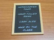 Bar Attractions Blackboard