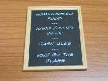 Bar Attractions Blackboard - M90