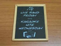 Pub Entertainments Board - M91